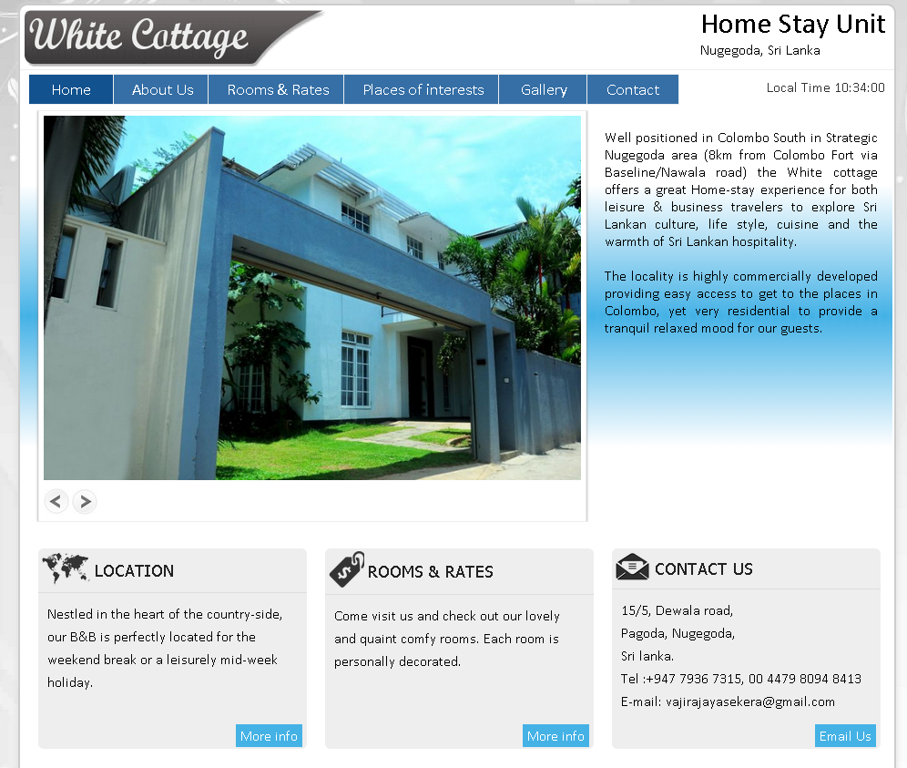 White Cottage - Home Stay Unit, Sri Lanka